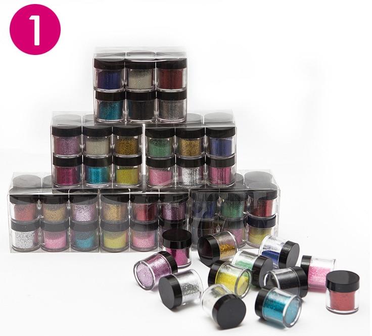 XB207 Nail art Acrylic Powder & Liquid Polish Painting Liquid Glitter Nail tools Strokes Manicure Nail art decorations