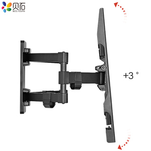 "Image 4 - Full Motion Retractable LCD Bracket TV Wall Mount Tilting Swivel Wall Stand Adjustable Mount Arm Fit for 32 70"" Max Support 50kg"