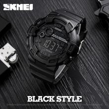Hommes Silicone Sport Montre SKMEI Chaude Top Marque Hommes Digtial Montres Étanche Militaire Montre-Bracelet Électronique Mâle Horloge Reloj