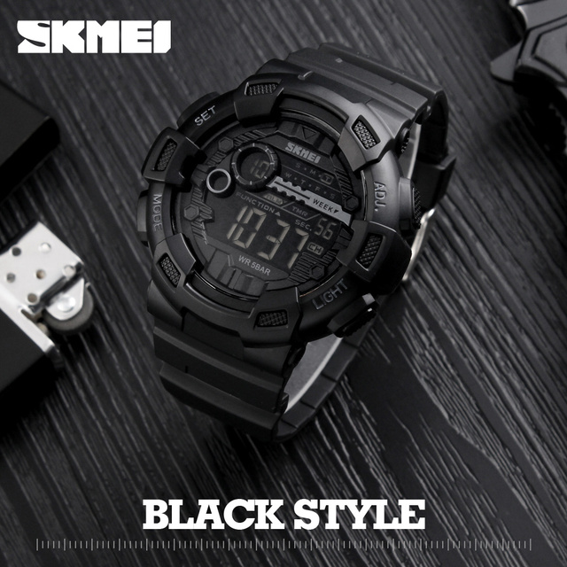 Мужчины Силиконовые Спортивные Часы Горячие SKMEI Лучший Бренд Мужские Digtial Часы Водонепроницаемые Военная Наручные Электронные Часы Мужской Часы Reloj