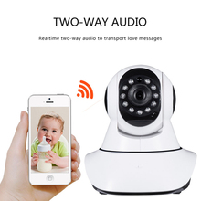 1080P full HD wifi ip camera wi-fi Home security Camera Baby Monitor IR Night Vision CCTV Camera with LED All-round 2 Way Audio