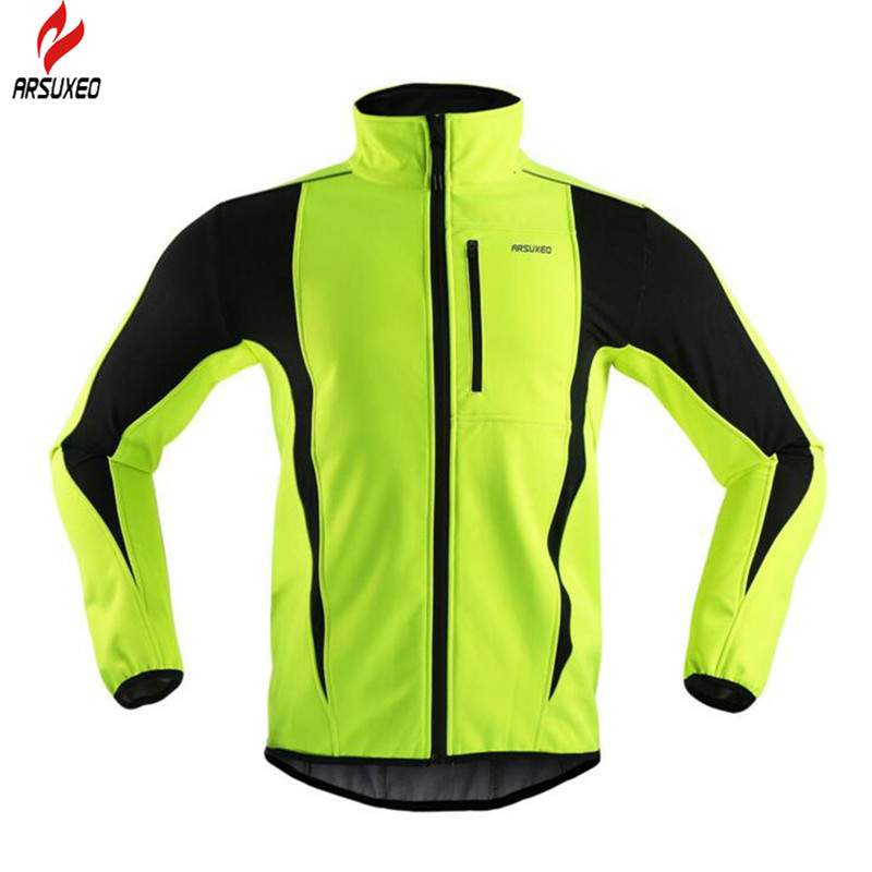 ARSUXEO Cycling Jersey MTB Bike Bicycle Cycling Cloth Ropa Ciclismo Sport Jersey Winter Fleece Windproof Cycling Clothing cycling jersey 2017 cheji top high quality racing sport bike jersey mtb bicycle cycling clothing ropa ciclismo summer clothes
