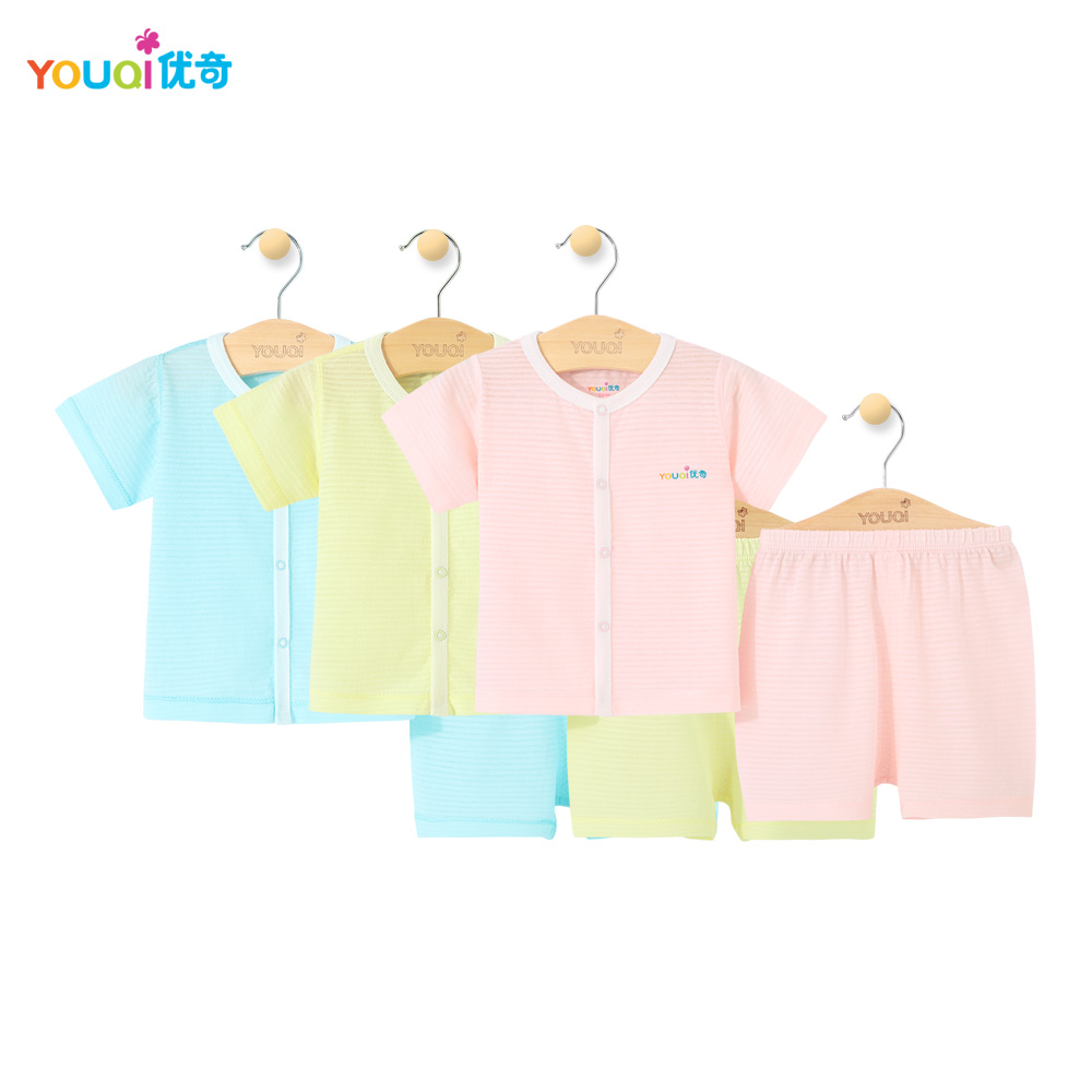 3Pcs Summer Baby Clothing Boy Short Sleeve Baby Girl Clothes Top Pants Suit 9 18 24 Months Toddler Infant Brand Costumes Pajamas newborn infant baby boy girl clothes hooded vest top short pants outfits set 2pcs suit summer baby boy clothes