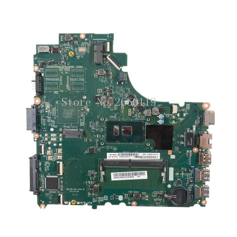 Laptop motherboard for V310-14ISK i3-6100U DA0LV6MB6F0 5B20L59361,Fully tested