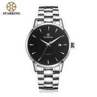 Original Starking Luxury Brand Watch Men Automatic Self wind Stainless Steel 5atm Waterproof Business Men Wrist Watch Timepieces
