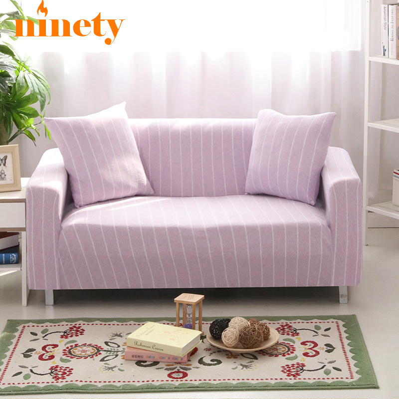 Striped Fabric Covers For Sofas Couvre De Canape On The Sofa Universal Couch  Cover Case On L Shaped Corner Sofa Cover Set A73