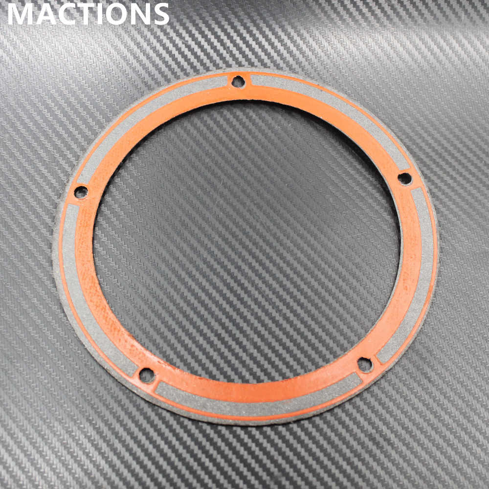 Mactions Derby Cover Gasket Ring Twin Cam untuk Harley Softail Touring Dyna Jalan Jalan Electra Glide Fatboy Fxd 99- 14 2015 2016
