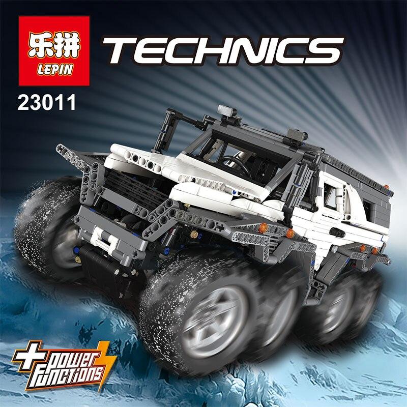 LEPIN 23011/23011B LEGOING Technic Serie Off-road del veicolo di Costruzione di Modello Kit Blocco Ragazzo Giocattoli Educativi Bricks Compatibili