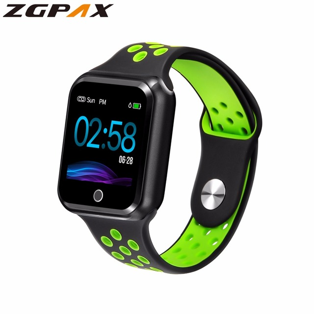ZGPAX S226 -> Waterproof -> long standby – 15 days -> Heart rate -> Blood pressure Smartwatch -> Supports IOS and Android