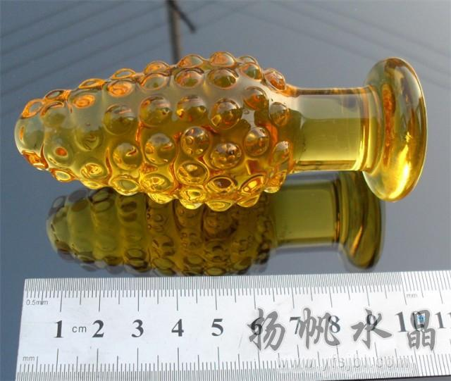 Big Size 100 Mm Pyrex Glass Anal Plug Dia42Mm Toy, Butt Plug, Booty Beads,Sex Toy -8655