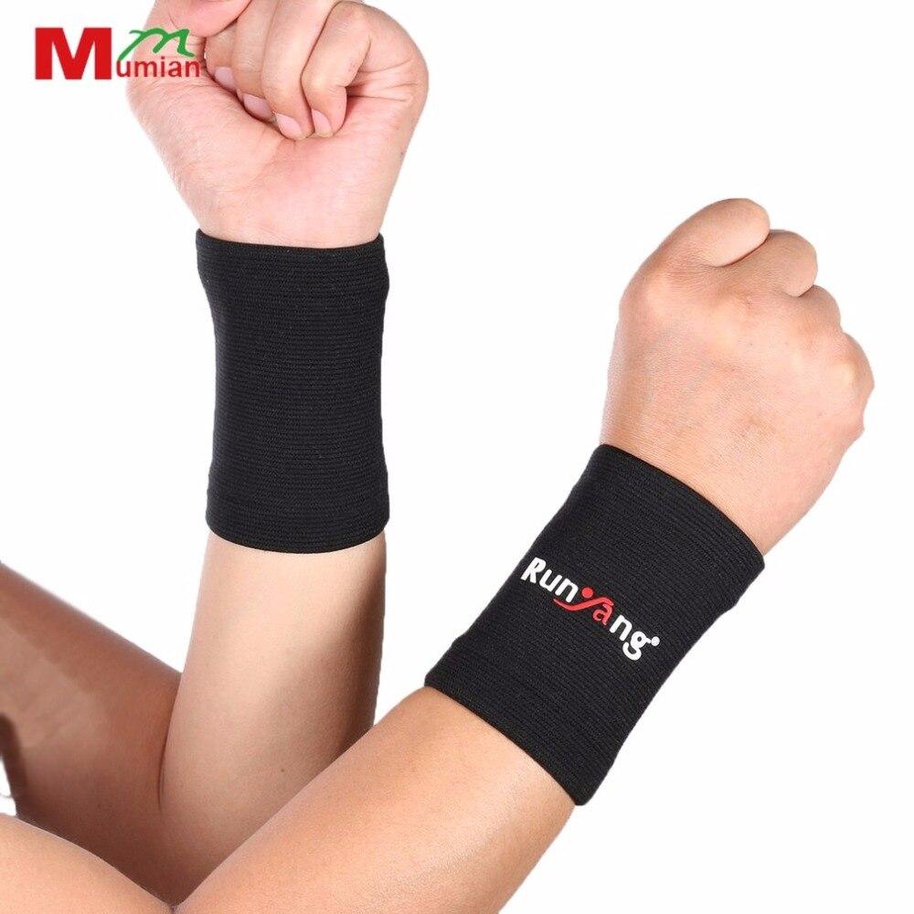 1 Pair/Set Comfortable Soft Elastic Wrist Brace Men Women Professional Sport Gym Wrist Support Brace Sleeve basketball