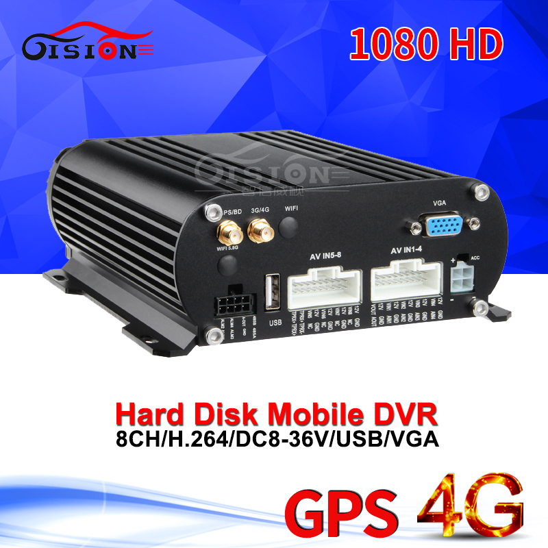 4G + gps HDD AHD Мобильный Dvr 8CH 1080 автобус/грузовик автомобиль Dvr в режиме реального времени смотреть автомобиль Mdvr программное обеспечение Беспла