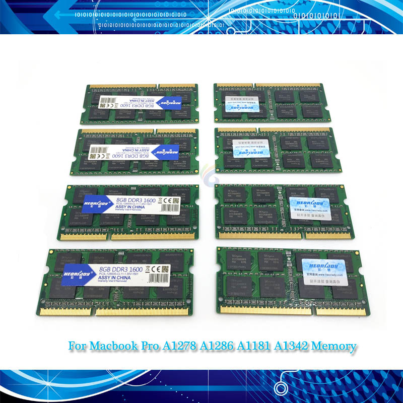 Notebook Laptop Ddr3l-Memory 1333 A1342 A1181 A1278 1600 4GB for Pro 13-A1286/A1181/A1342