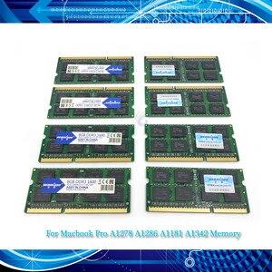 """Image 1 - מקורי RAM 4GB 8GB 1333 1600 DDR3L זיכרון עבור Macbook Pro 13 """"A1278 A1286 A1181 A1342 זיכרון ram Memoria sdram מחשב נייד מחברת"""