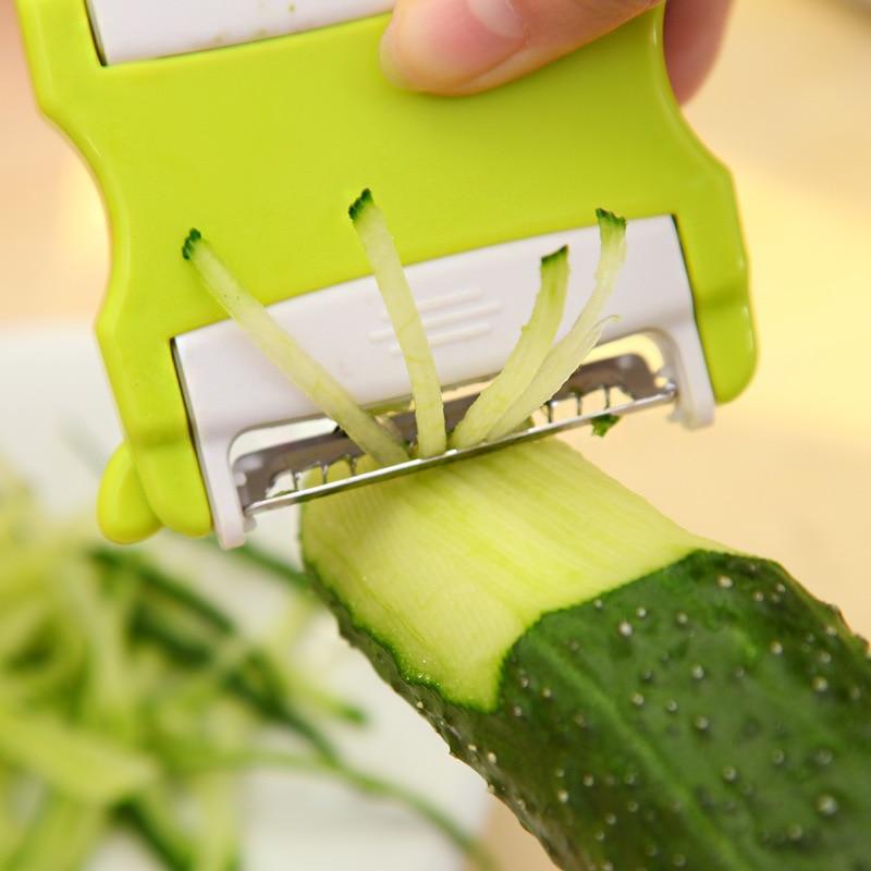 Multifunctional Sliced Shredded Vegetables Fruit Cutting Equipment Cucumber Slicing Machine Peeling Machine Kitchen Novel Tools