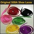 1 Par SEBA Sapatos de Renda para sapatos de Skate, 1.8 m de Comprimento, vermelho Amarelo Preto Verde Rosa Roxo Cor Sapatos Atacadores