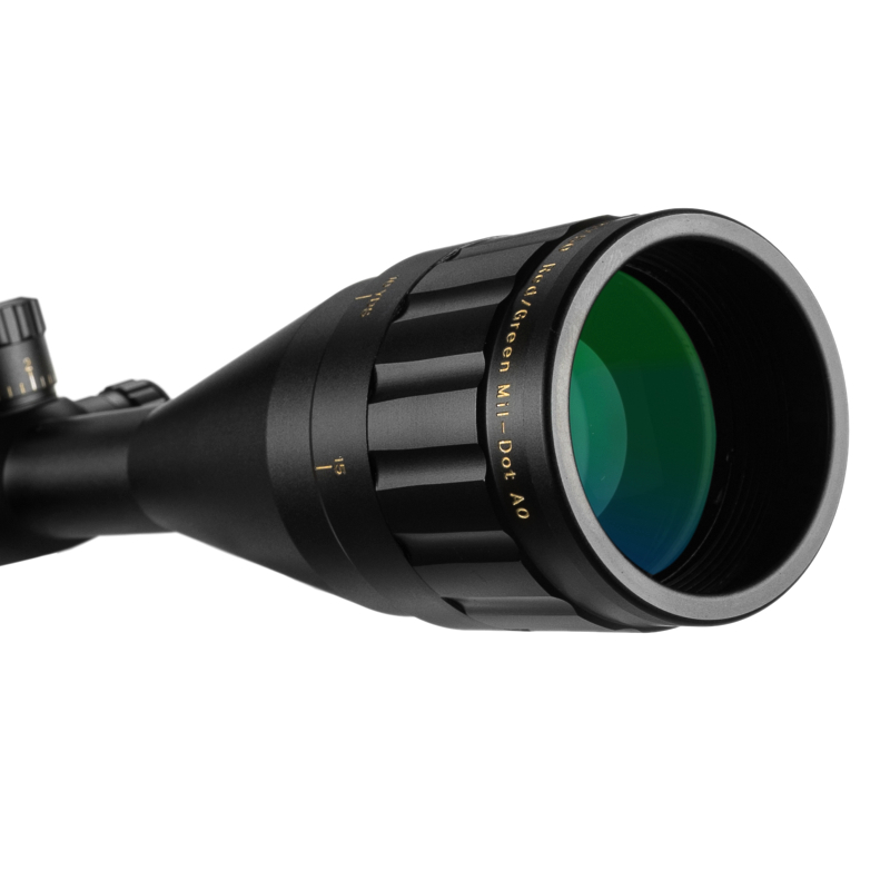 Image 3 - 4 16X50 Riflescope Tactical Optical Rifle Scope Red Green Blue Dot Sight Illuminated Retical Sight For Hunting Scope-in Riflescopes from Sports & Entertainment