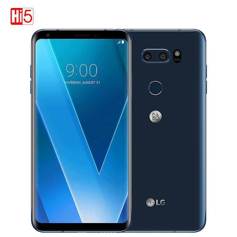 Image 2 - Unlocked LG V30 plus mobile phone V30+ 4GB RAM 128GB ROM Octa Core Dual Sim 6.0''  13MP&16MP Camera 4G LTE SmartPhone 3300mAh-in Cellphones from Cellphones & Telecommunications