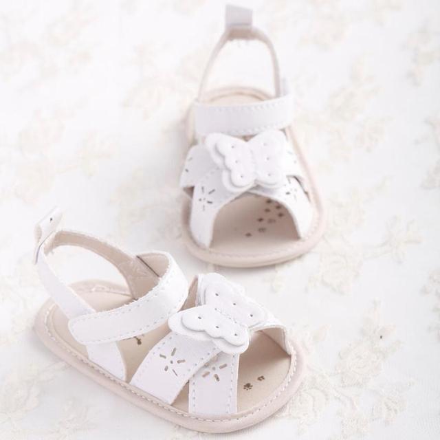 BÉ cô gái dép mùa hè Bé Bow-knot Dép Trẻ Mới Biết Đi giày Công Chúa Cô Gái Giày Bé anh m21