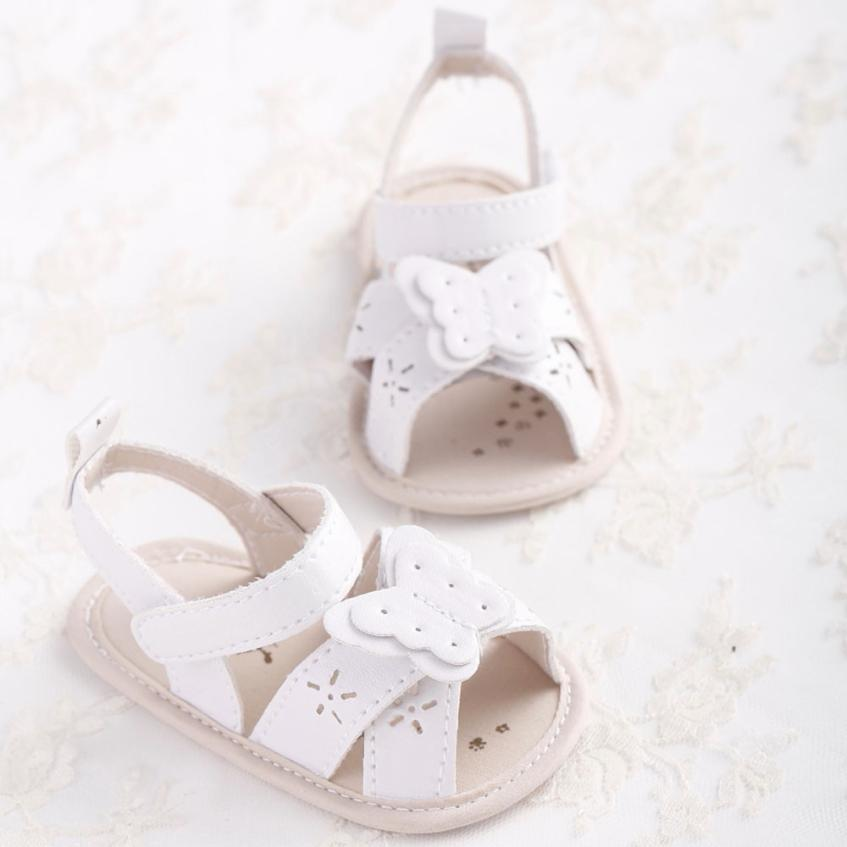 BABY Girls Sandals Summer Baby Bow-knot Sandals Toddler Princess Shoes Girls Kid Shoes  Uk M21