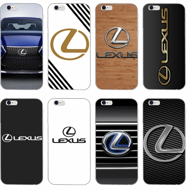 the latest 86d38 5a219 US $1.99  luxury car lexus logo Silicone TPU Soft phone case For Apple  iPhone 4 4s 5 5s 5c SE 6 6s plus 7 7plus 8 8plus X-in Half-wrapped Case  from ...