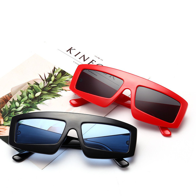2018 New Luxury Brand Designer Lady Square Sunglasses Women Goggle Sun Glasses For Female Big Frame Eyewear UV400