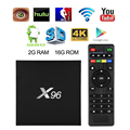 X96 TV Box Quad Core 2.4GHz WiFi HDMI2.0 Android6.0 2GB/16GB AH240-AH242