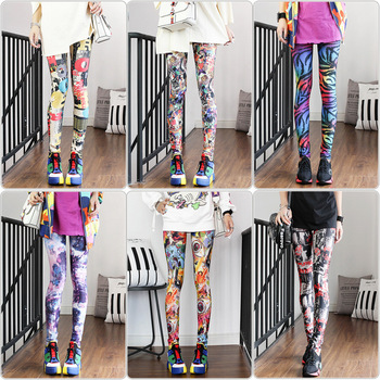 Fashion Leggings Sexy Highly Elastic and Colorful 1