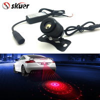 Free Shipping Car Styling Six Figure Laser Light Anti Collision Rear End Led Fog Light Warning