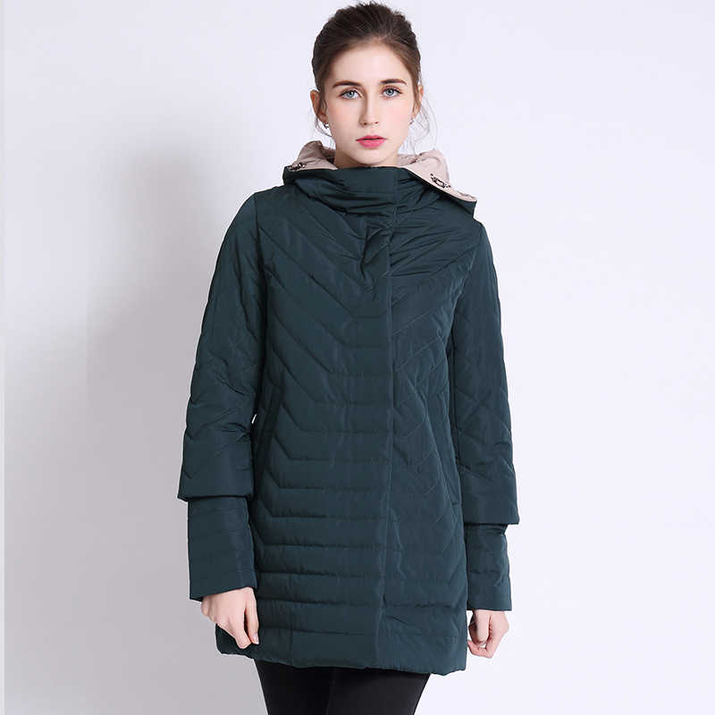 2019 Thin Women's Coat Spring Autumn Women's Fashion Windproof Parkas Female Hood Jacket New Large size Outwear Hot Sale