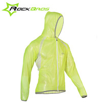 ROCKBROS Cycling Jacket Women Men Bicycle Long Sleeve TPU Waterproof Raincoat Chaqueta Ciclismo Bike Jacket Sport