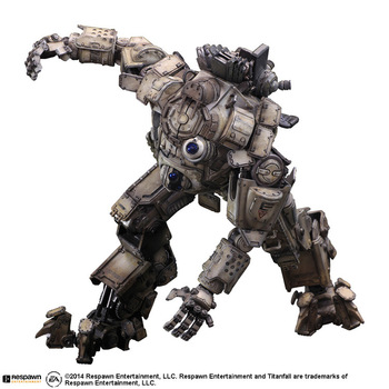 26cm Movable PVC Play Arts Pa Kai Action Figure Atlas Titanfall Titan Fall Model Toy Collection Cartoon Model Xmas Gift T30 lis steampunk batman play arts kai action figure pvc toys 270mm anime movie model steampunk bat man playarts kai christmas gift