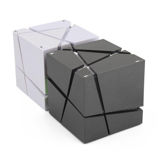 LOFREE qone7 край Портативный Mini Bluetooth Динамик LED 3 Вт Стерео Звук Box MP3 плеер сабвуфер Колонки Встроенный 500 мАч батарея