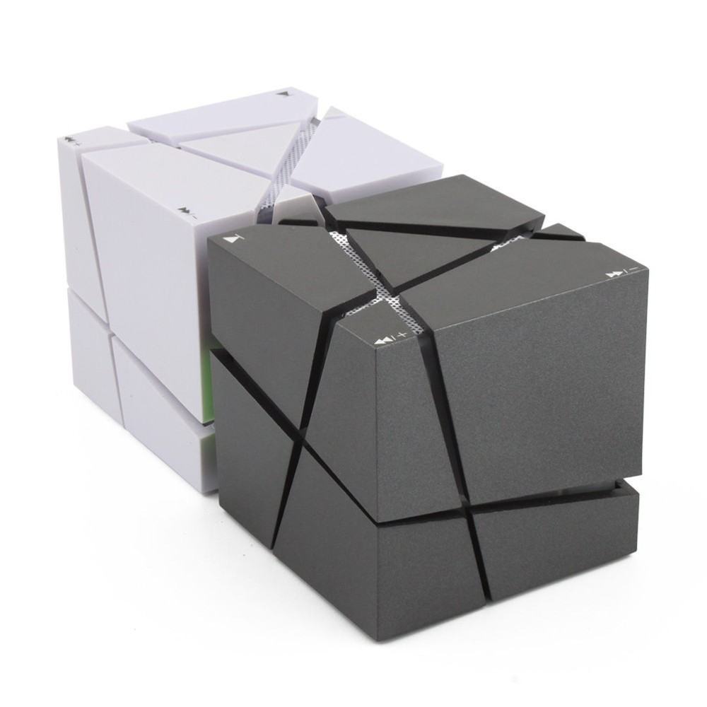 Lofree Qone7 borde portátil Mini Bluetooth altavoz LED 3 W ESTÉREO de sonido de la Caja Mp3 jugador Subwoofer altavoces incorporada de 500 mAh de la batería