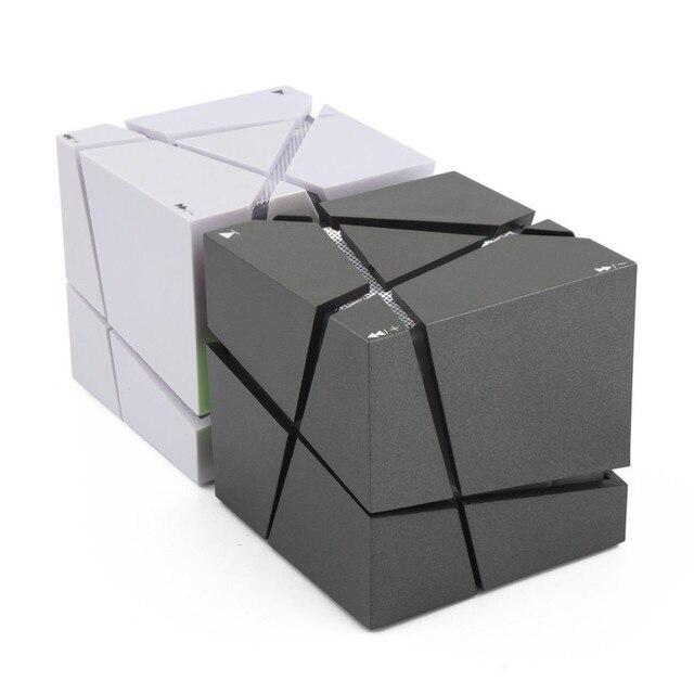 Lofree Qone7 borde portátil Mini Bluetooth altavoz LED 3 W de la caja de sonido Mp3 jugador Subwoofer altavoces incorporada de 500 mAh de la batería
