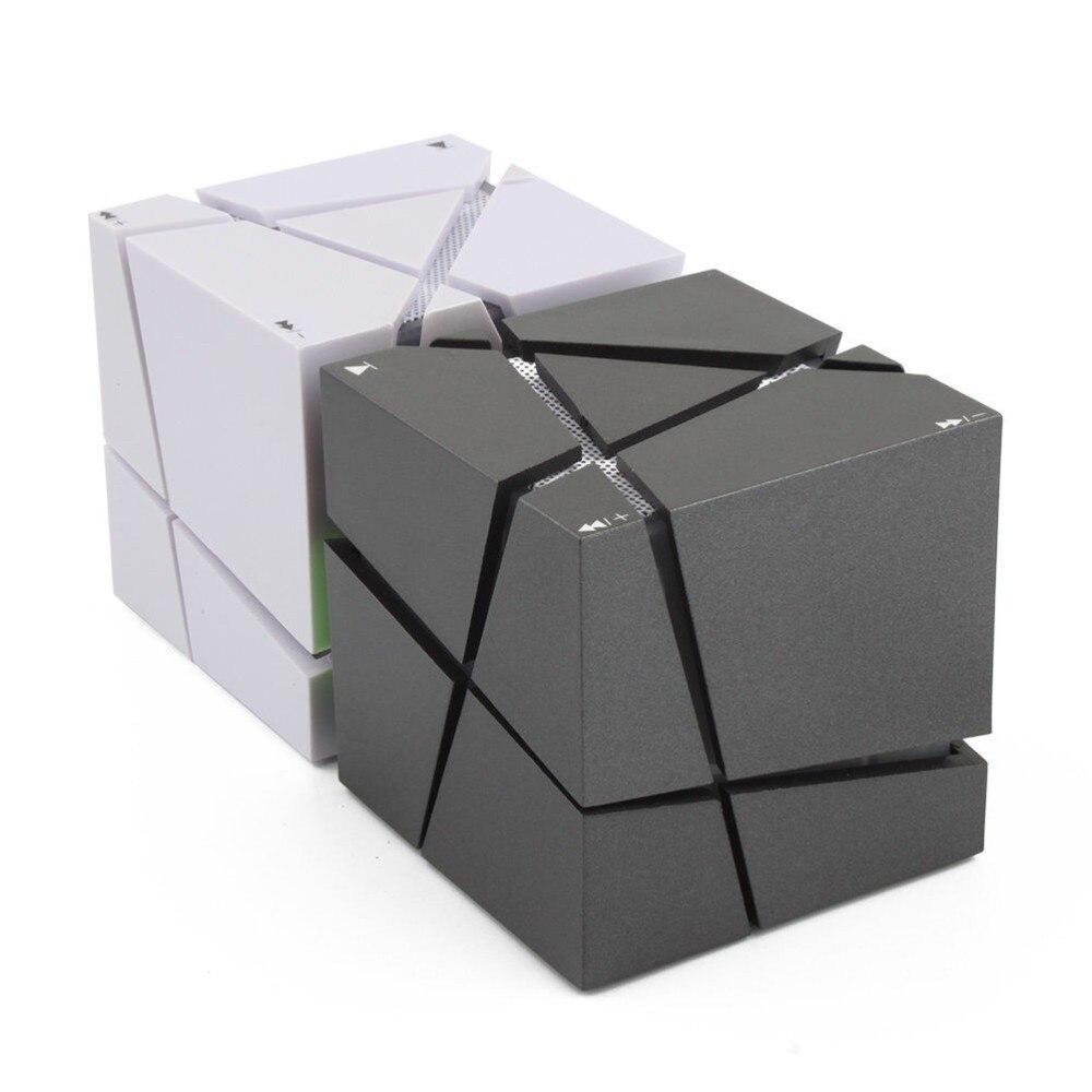 Lofree qone7 Edge portátil mini Bluetooth altavoz led 3 W ESTÉREO caja de sonido MP3 player subwoofer Altavoces incorporado 500 Mah batería