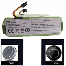 3pc /lot  NI-MH 14.4V 3500mAh Battery for Ecovacs Mirror CR120  for panda X500 X600Vacuum cleaner Dibea X500 X580 battery цена