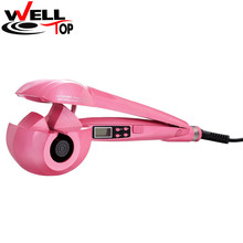 2017 Hair Curler Styling Tools Magic Curling Iron Hair Styler Wand Curlers With US EU UK AU Plug
