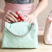 Creative Japanese Style Insulation Bag Thick Oxford Cloth Portable Lunch Aluminum Foil Waterproof Box