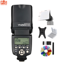 YONGNUO YN-560III профессиональная вспышка Speedlight фонарик YONGNUO YN 560 III для Canon/Nikon/Pentax/Olympus Камера