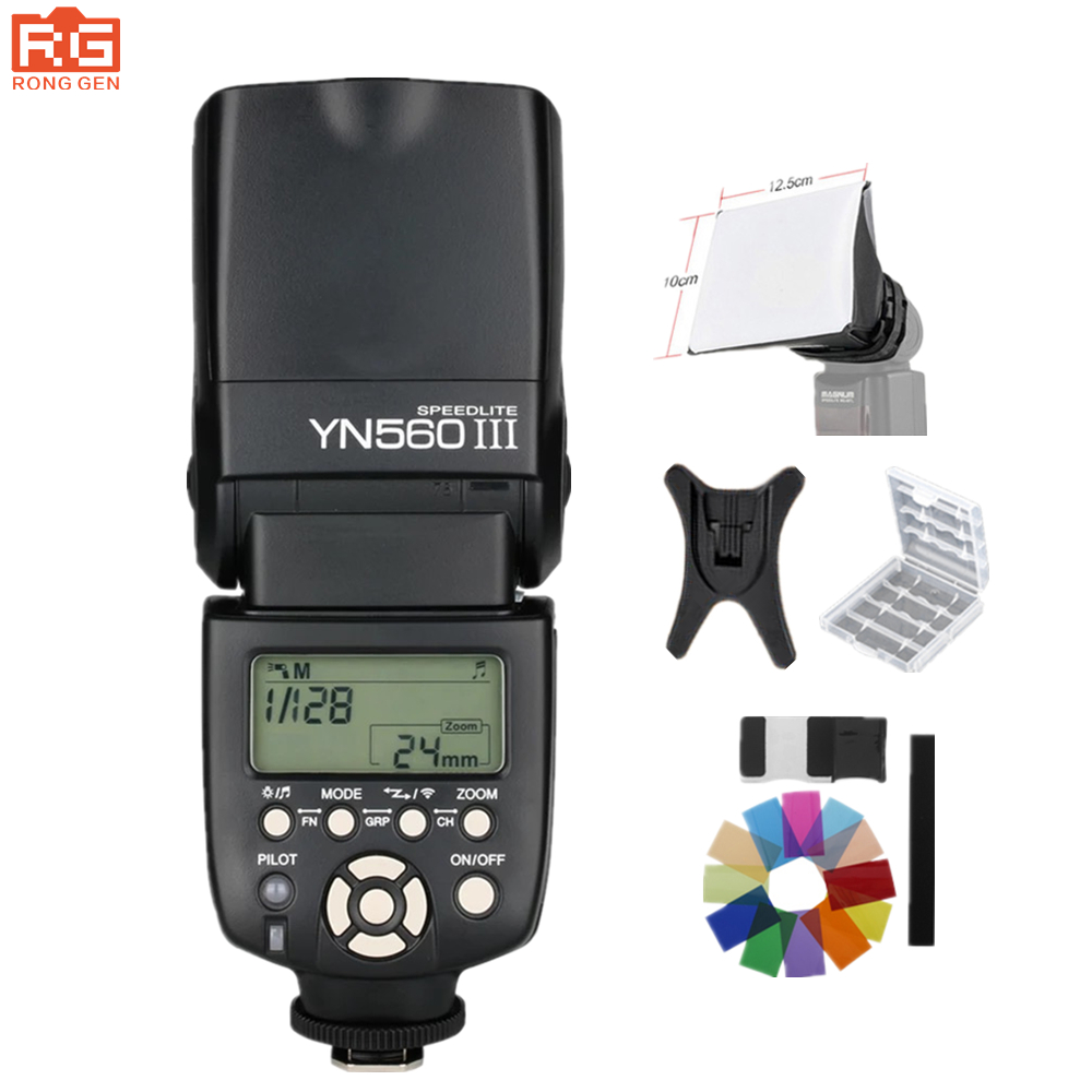 Yongnuo YN-560III Flash Professional Speedlight Torcia Yongnuo YN 560 III per Canon Nikon Pentax Olympus