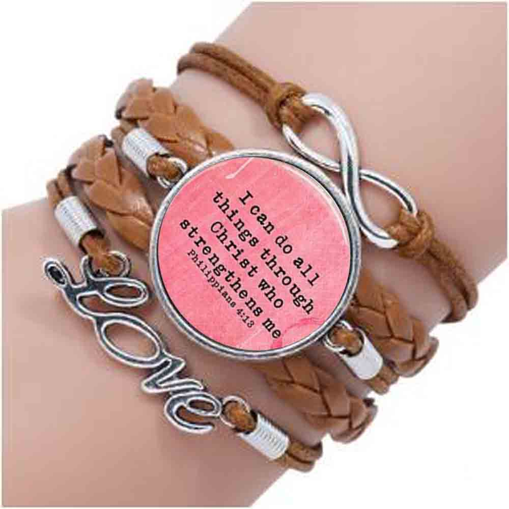 FAITH HEBREWS 11:1 bracelet Bible Quote Jewelry Scripture bracelet ...