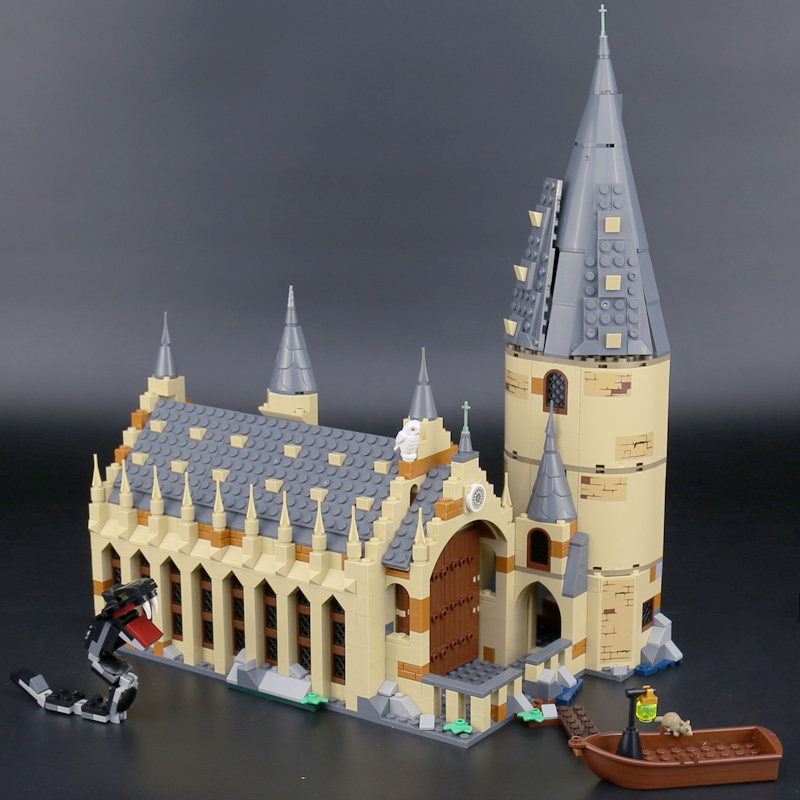 Lepin-16052-Harry-Movie-Potter-The-75954-Hogwarts-Great-Wall-Set-Building-Blocks-Harry-New-Potter