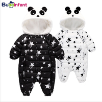 Baby Clothing Cotton Parkas Baby Winter Kids Boys Clothes Baby Girls Warm Coat Panda Infant Snowsuit Toddler Outerwear Animals