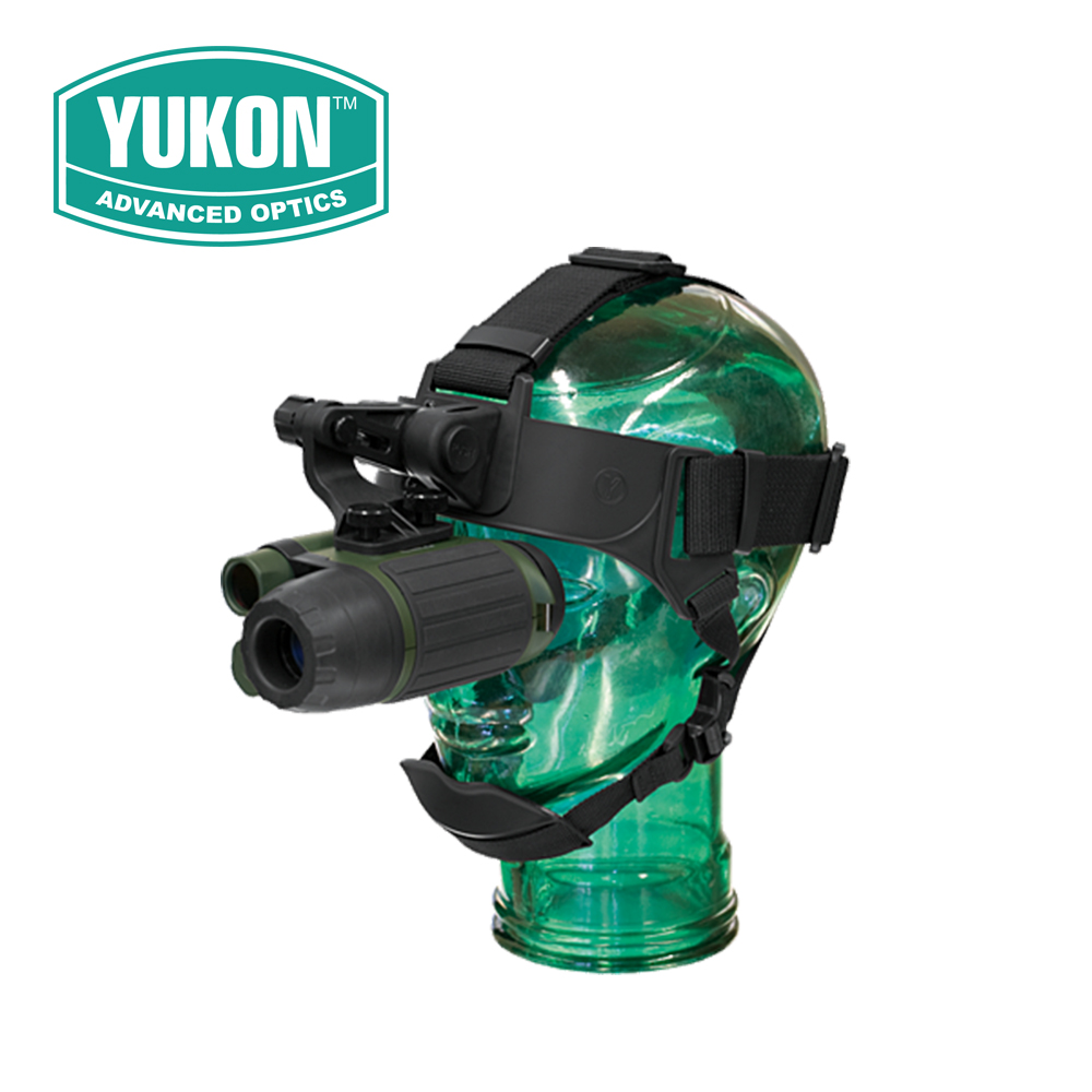 Yukon NVMT Spartan 1x24 Head Mount Kit Night Vision Monoculars Compact Multi-Task Hunting Scope Built-in IR illuminator цена