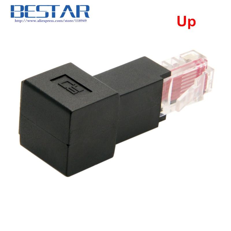Op & Neer & Links & Rechthoekig 90 graden 8P8C FTP STP UTP Cat 5e - Computer kabels en connectoren - Foto 2