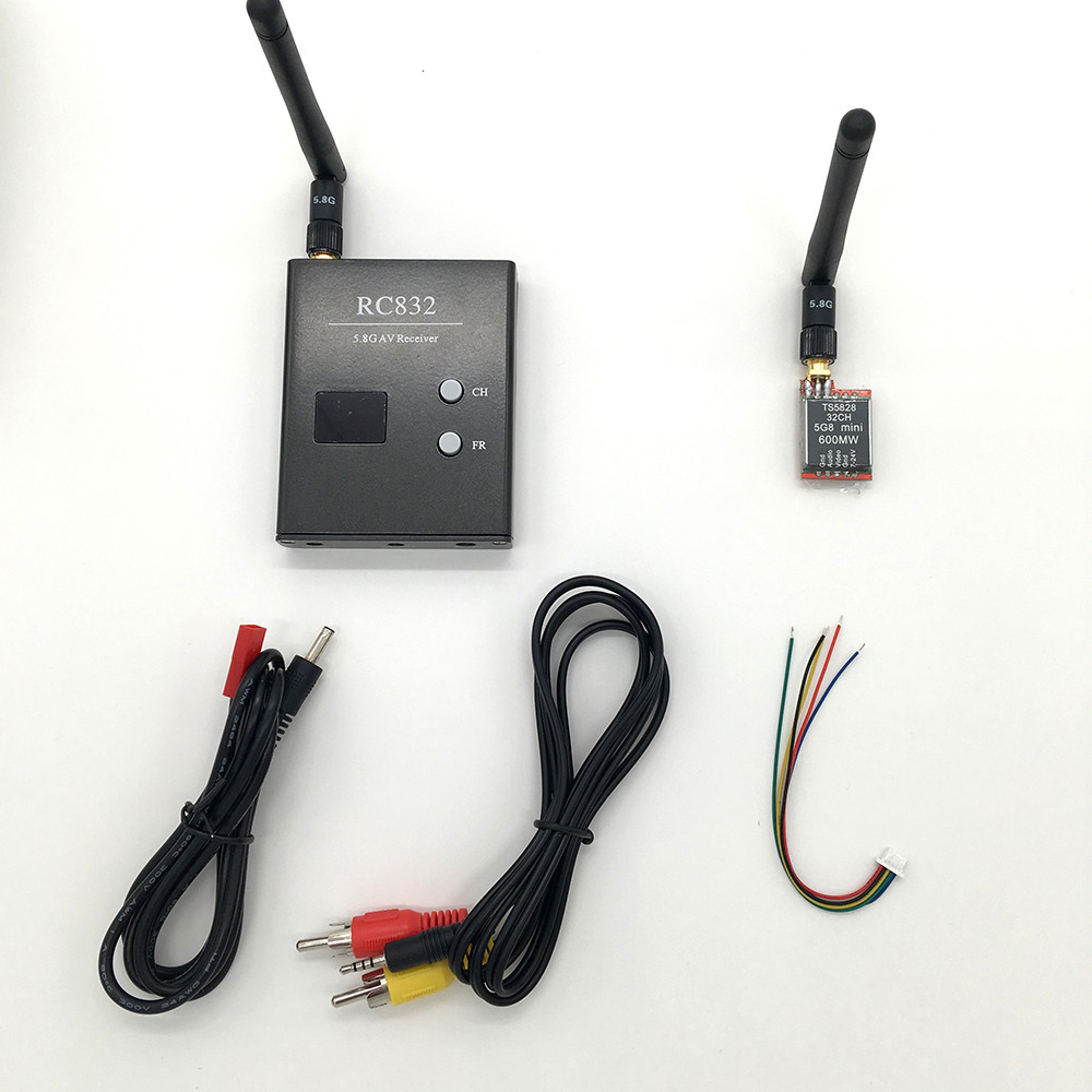 Car-Video-System-wifi-Rearview-for-Aircraft-5-8GHZ-600mW-32CH-Mini-AV-Wirelss-TS5828-Transmitter