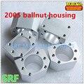 Alta qualidade 1 pçs/lote Liga de Alumínio 2005 Bola nut habitação bracket suporte para Rolou parafuso da Esfera SFU2005 SFU2010