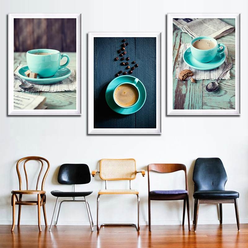 Kitchen Canvas Wall Decor: Modern Paintings Canvas Wall Decor Picture For Bedroom