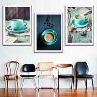 Moderne gemälde leinwand wand dekor bild für schlafzimmer küche kaffee schilderij quadro leinwand malerei öl kunst poster home deco-in Malerei und Kalligraphie aus Heim und Garten bei